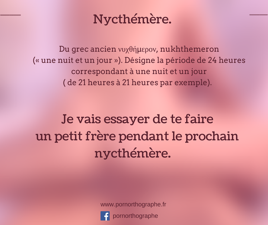 nycthemere