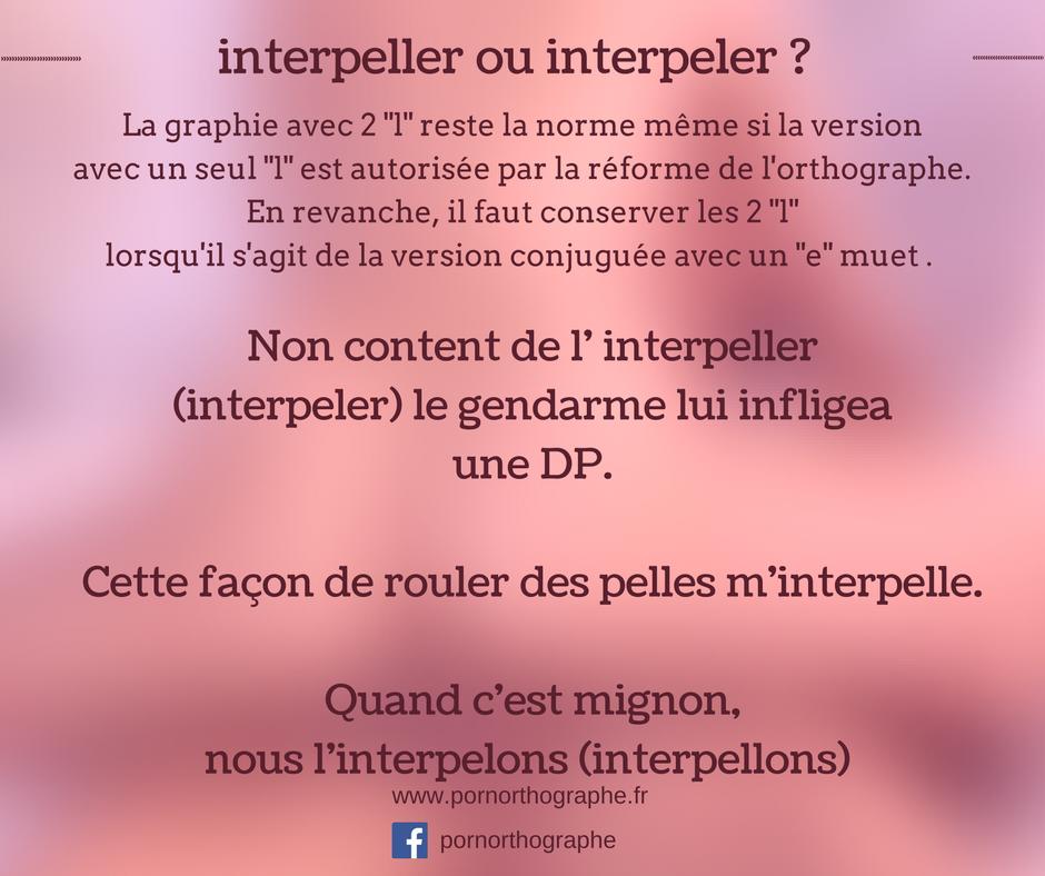 interpeller