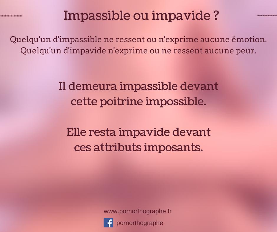 impassibleimpavide