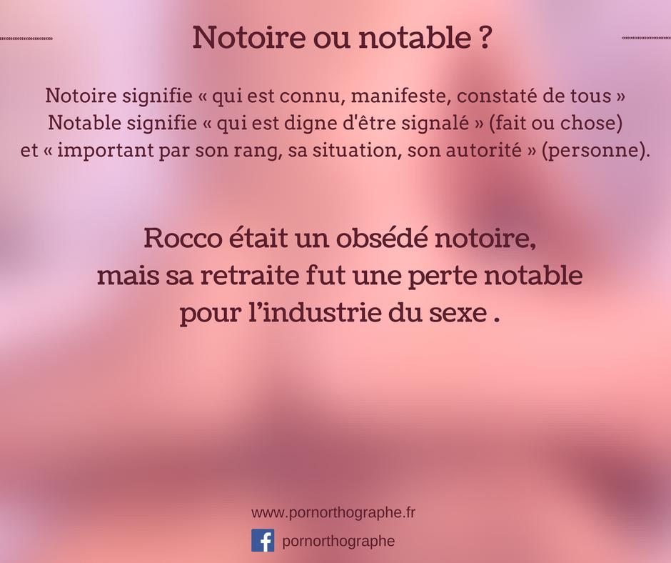 notoirenotable