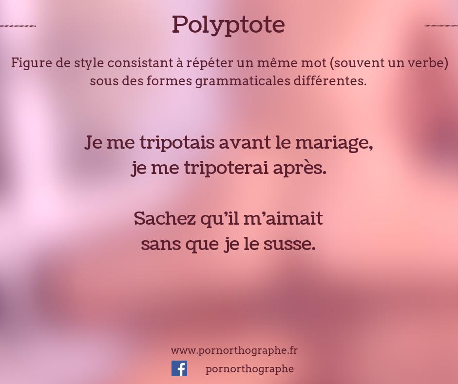 polyptote