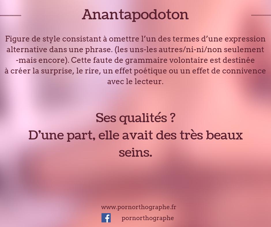 anantapodoton