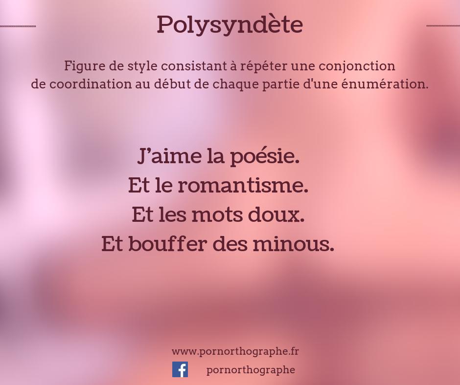 polysyndète