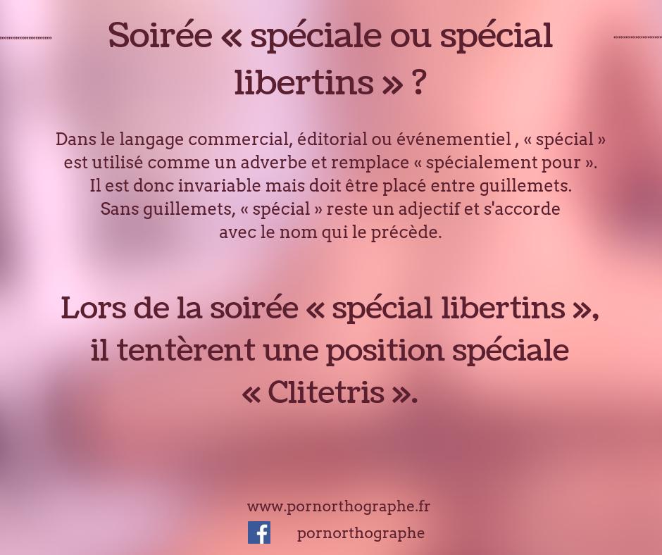 special ou spéciale