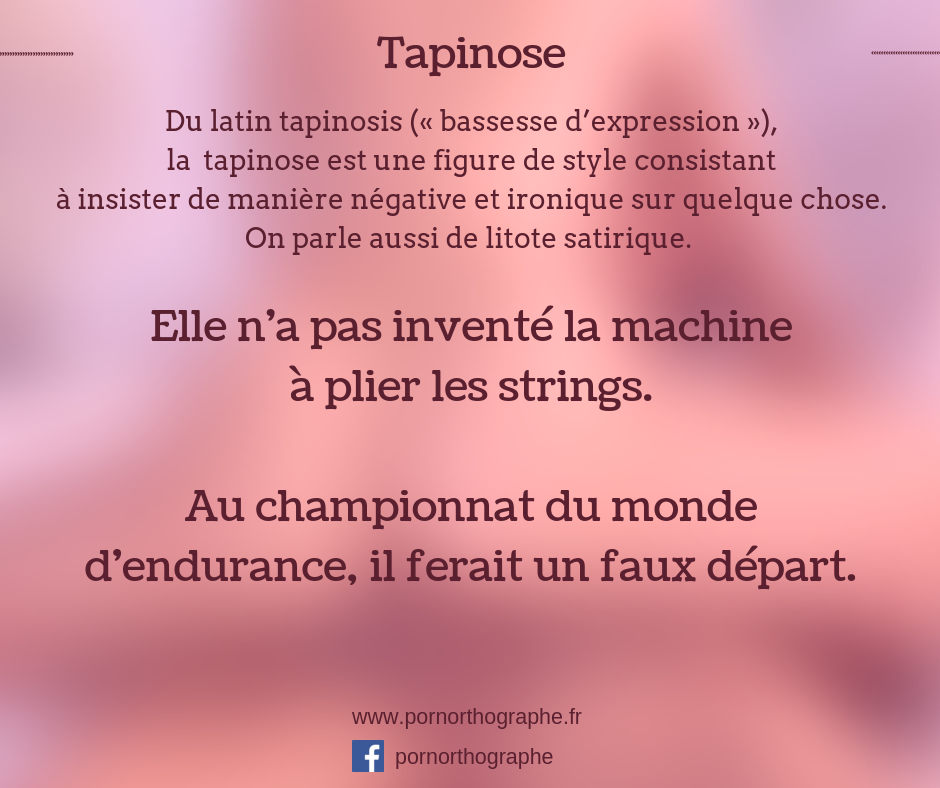 tapinose