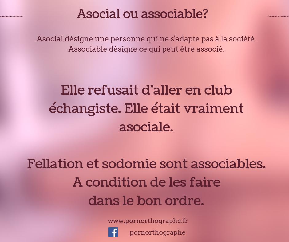 asocial et associable