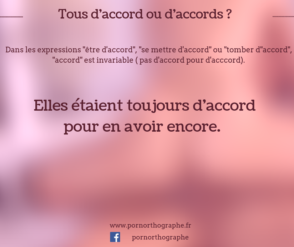 d'accords'accords
