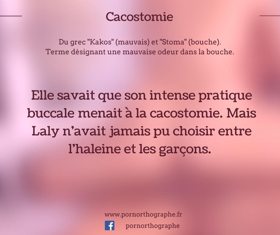 cacostomie