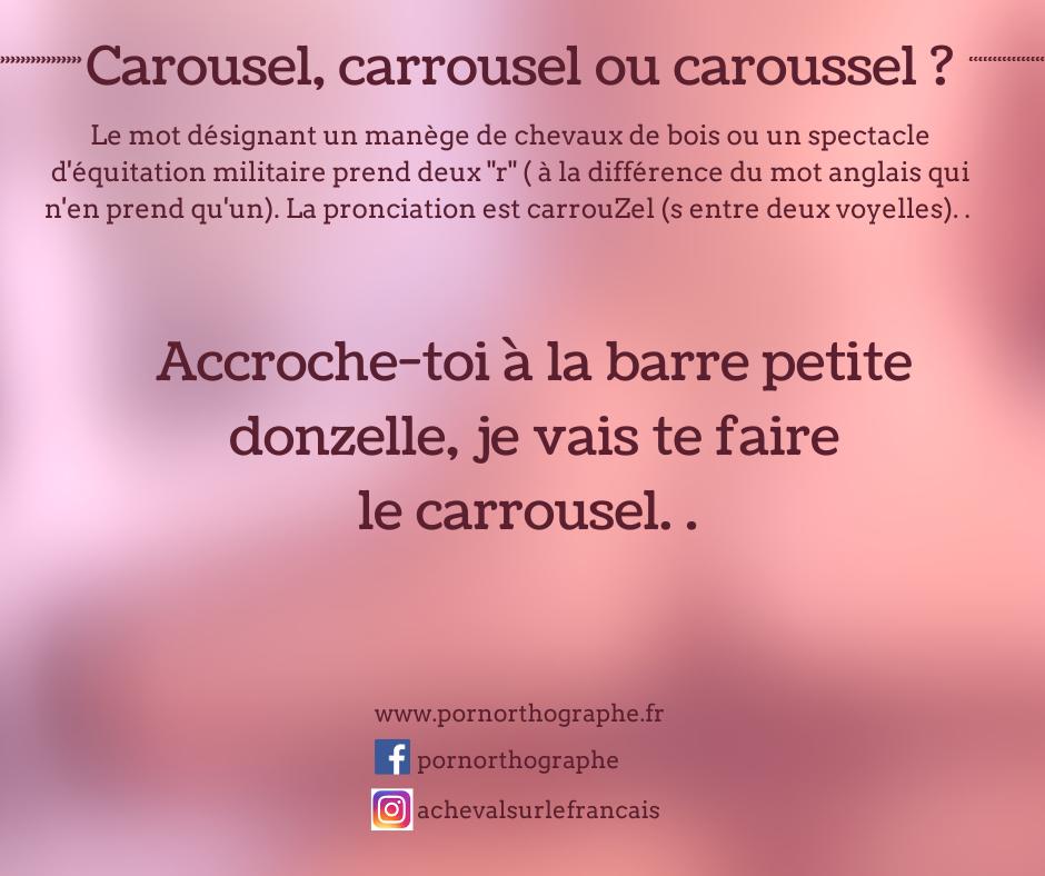 carrousel ou carousel